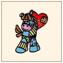 Love Pony embroidery design