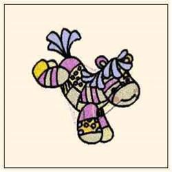 Happy Pony embroidery design