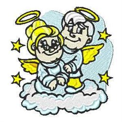 Old Angels embroidery design