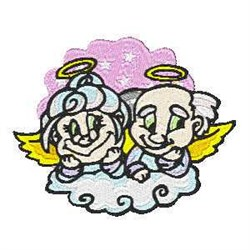 Heavenly Angels embroidery design