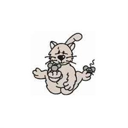 Cat & Mice embroidery design
