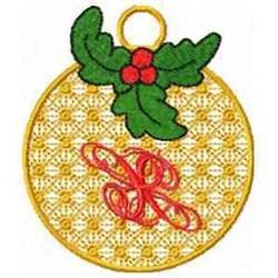 Ornament Letter X embroidery design