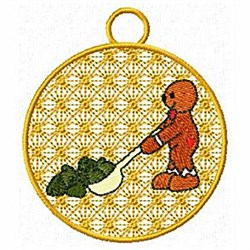 Cookie Ornament embroidery design