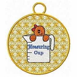 FSL Measuring Cup Ornament embroidery design