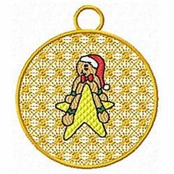 Xmas Ornamnet embroidery design