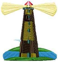 Harbor Lighthouse embroidery design