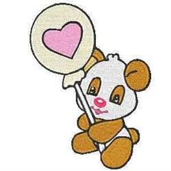 Lolli Panda embroidery design