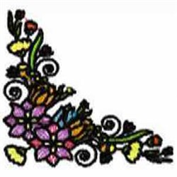 Greenery Corner embroidery design