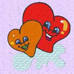 Hearts Baby embroidery design