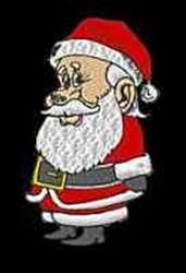 Santa Claus embroidery design