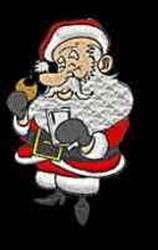 Santa Cookie embroidery design