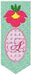 Bookmark A embroidery design