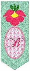 Bookmark B embroidery design