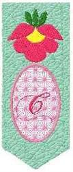 Bookmark C embroidery design