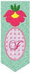 Bookmark I embroidery design