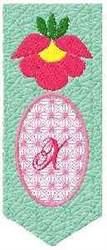 Bookmark X embroidery design