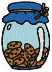 Cookie Jar embroidery design