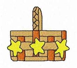 Star Basket embroidery design