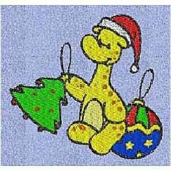 Ornaments Giraffe embroidery design