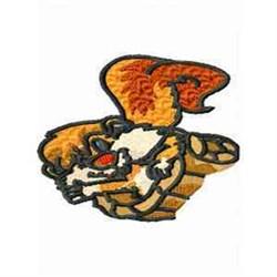 Squirrel Cartoon embroidery design