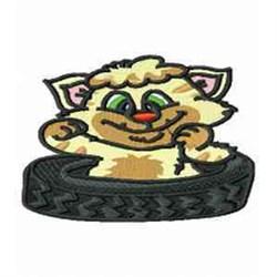 Cat Cartoon embroidery design