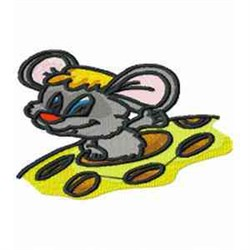 Mouse Cartoon embroidery design