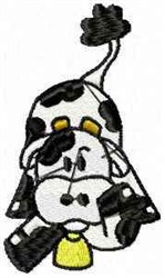 Dairy Cow embroidery design