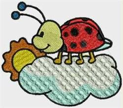 Day Ladybug embroidery design