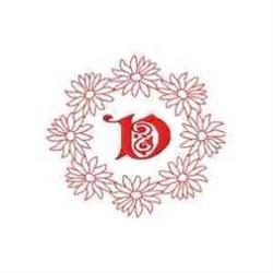 Daisy V embroidery design