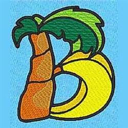 Animal B embroidery design