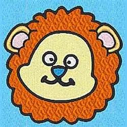 Animal O embroidery design