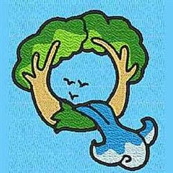 Animal Q embroidery design