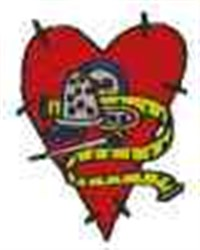 Sewing Thimble Heart embroidery design