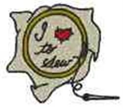Sewing Hoop embroidery design