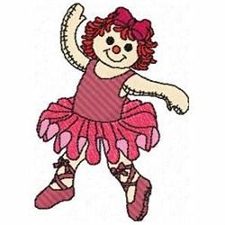 Ballerina Ann embroidery design