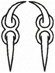 Claw N embroidery design