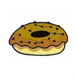 Donut Dessert embroidery design
