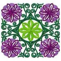 Flower Quilt embroidery design