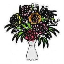 Blooms Bouquet embroidery design