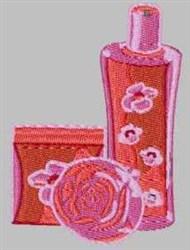 Perfume embroidery design