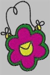 Flower Handbag embroidery design