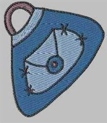 Blue Handbag embroidery design