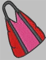 Handbag embroidery design