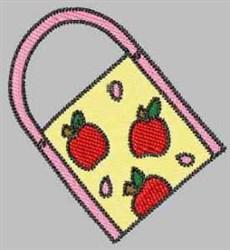 Apple Handbag embroidery design