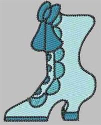 Aqua Boot embroidery design