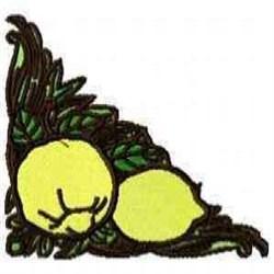 Lemon Corner embroidery design