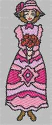 Pink Fun & Fancy embroidery design