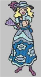 Blue Fun & Fancy embroidery design