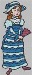 Fun & Fancy Girl embroidery design