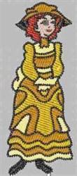 Yellow Fun & Fancy embroidery design
